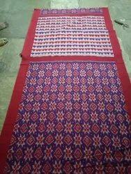 Party Wear Ikat Cotton Sarees, 6 m (with blouse piece)