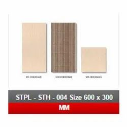 STPL -STH-004 Size 600x 300 mm Floor Tile