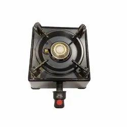 Mild Steel Black Hotery Portable LPG Gas Burner, Model Name/Number: HB-4315, For Gas Stove