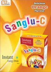 Orange Energy Drink, Packaging Size: 100 Gm
