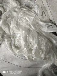 White Undrawn Polyester