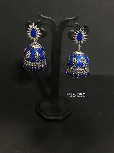 2b0768d68 Women Festival Meenakari Earrings, Rs 240 /pair, Panaah Jewellery ...