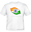 Mens round neck independence day special