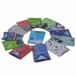 Men Cotton Multicolor Printed T Shirt, Size: S - XL