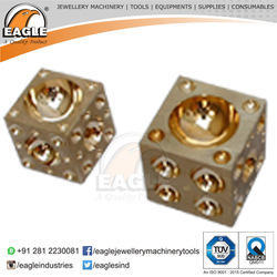 Brass Doming Block Jewelry Tool