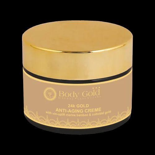24 k Gold Anti Aging Creme