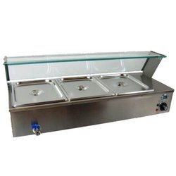 Stainless Steel Bain Marie Table