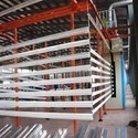 Aluminium Powder Coating Booth