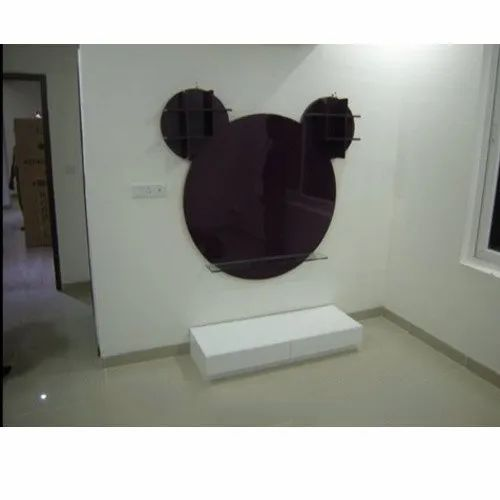 Mickey Mouse Shape LCD Panel