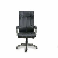 Fixed Arms Black High Back Revolving Office Chair