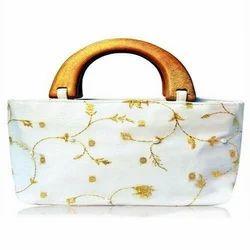 Modern Clutch Silk  Bag