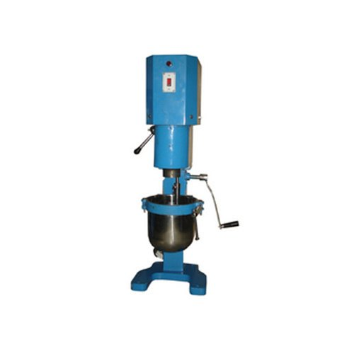Electric Engine Stainless Steel Mortar Mixer For Laboratory