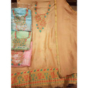 Ladies Unstitched Kanni Silk Salwar Suit