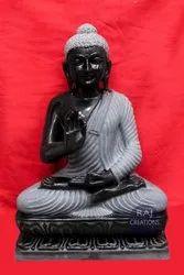 Blacck Marble Buddha Statue