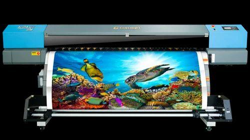 Aurajet ecosolvent Vinyl Printing Machines, Model/Type: Colorjet