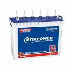 Lead Acid Microtek Mtek Power Tall Tubular Battery