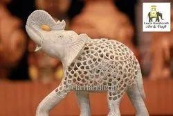 Stone Salute Indian Elephant