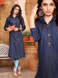 PR Fashion New Denim Kurti