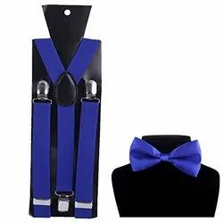 Suspender And Bow Tie