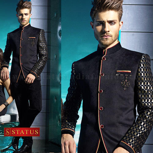 d96bcb343b Designer Jodhpuri Suit - Purple Velvet Jodhpuri Suit Manufacturer from  Mumbai