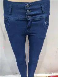 3 Button Jeans