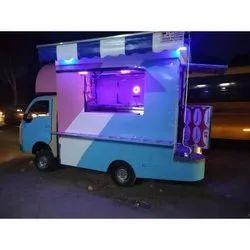 Diesel On Wheel Restaurant Food Truck, 50-90 Km/H