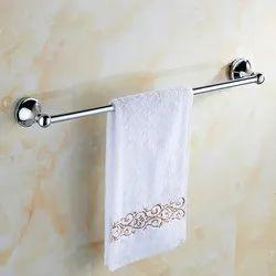 Stainless Steel Silver Towel Hanger