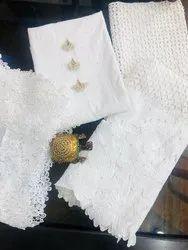 Cotton Unstitched Non Catalogue Suit, Wash Care: Handwash