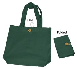 Non-printed ISPL Cotton Foldable Bag, Size: Medium