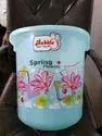 Floral Print Bucket
