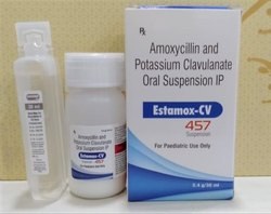 Amoxicillin Potassium Clavulanate 457  Dry Syrup