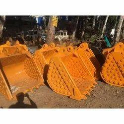 Excavator Bucket, Capacity: 100-500 Kg