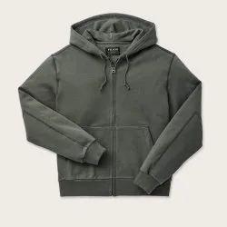 Plain Full Sleeves Mens Zip Hoodies