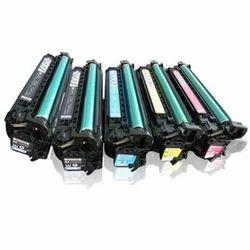 BLACK , YELLOW HP CE270A Cartridge