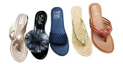 Daily Wear Printed Designer Slipper, Size: 5-9
