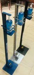 Leg Press Sanitizer Stand