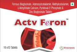 Ferrous Bisglycinate Adenosylcobalamin Methylcobalamin L Metylfolate Calcium Pyridoxal-5 Phosphate