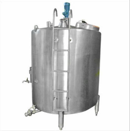 Milk Storage Tank Manufacturer From Ghaziabad