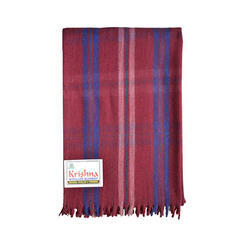 Woolen Check Blanket