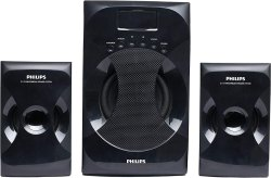 Philips MMS-4040F/94 2.1 Channel Multimedia Speaker System (Black)