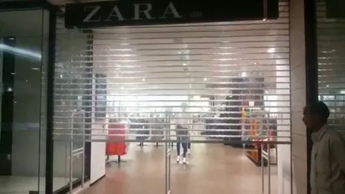 Full Height Polycarbonate Rolling Shutter