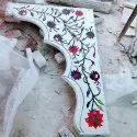 White Marble Inlay Work