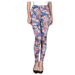 Cotton Lycra Printed Legging