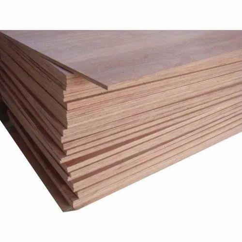 Brown Plain Gurjan Plywood, For Furniture