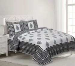 Printed Double Cotton Bedsheets