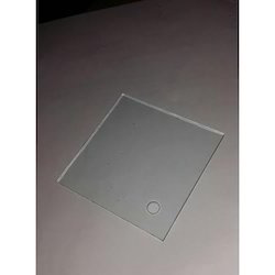 72 Mm Square Glass Volt Meter Glass