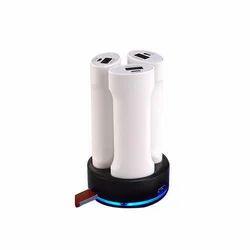 Glow Power Bank With Triple USB Ports
