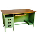 Designer Wooden And Steel Table