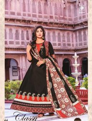 Designer Gown With Dupatta