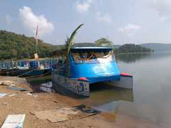 FRP Catamaran Pontoon Boat - 30 seater